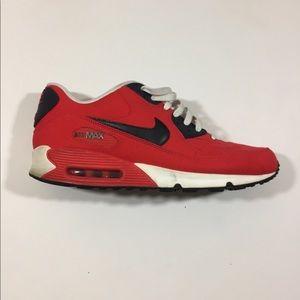Nike air max red blue men's 12